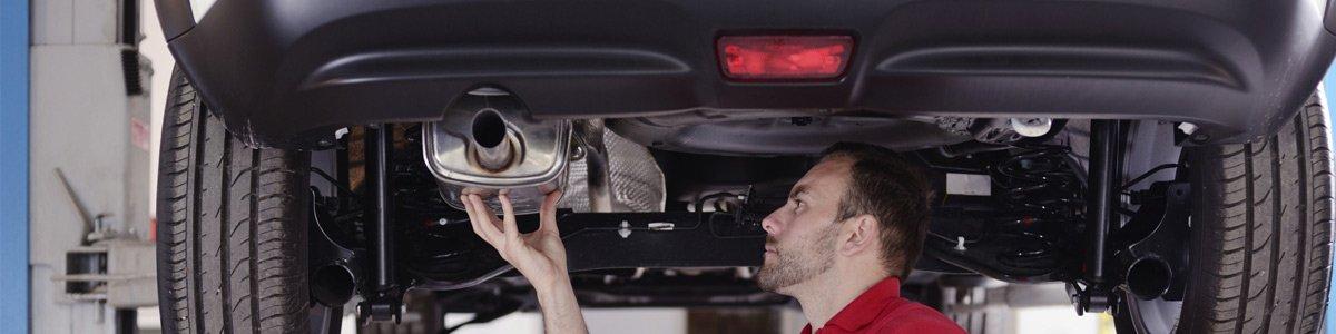 Custom exhaust repair men